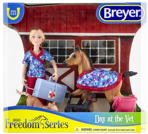 62028 Breyer Day at the vet