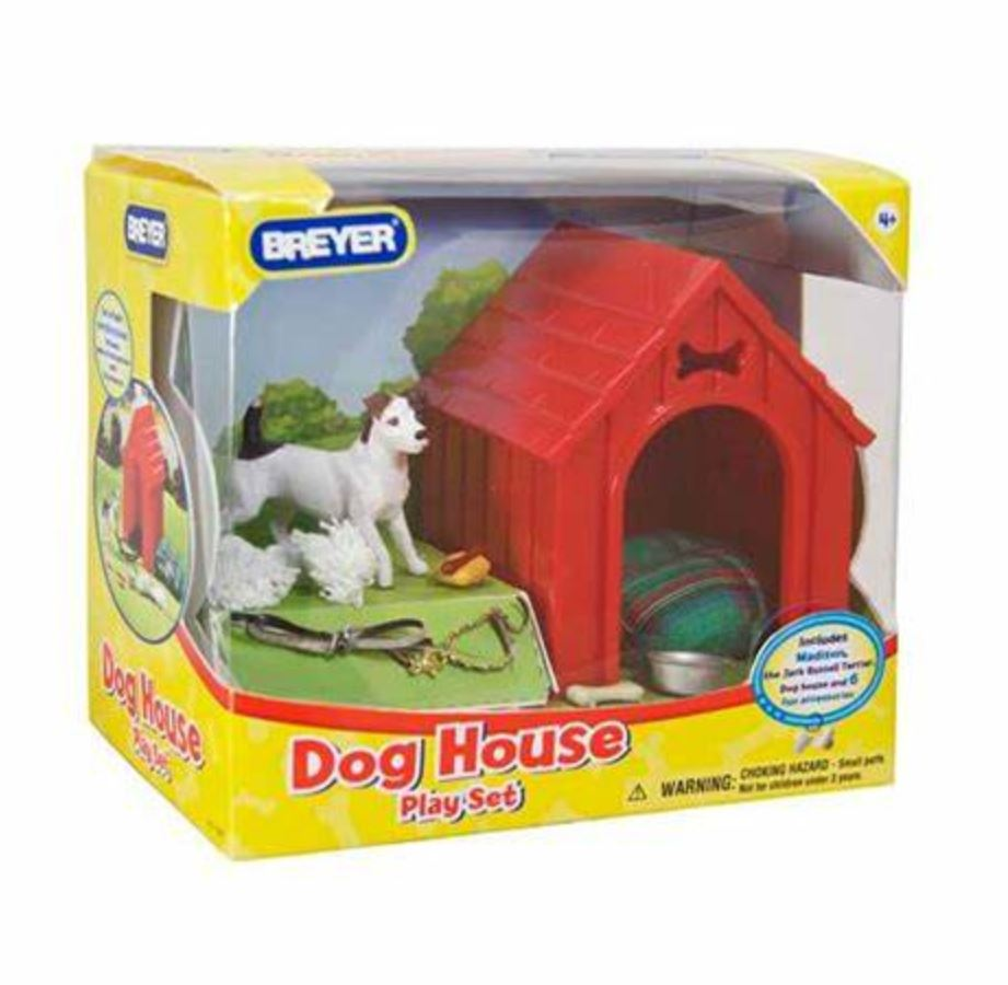 1508 Breyer Dog house play set