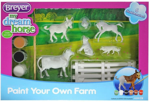 4209 Breyer Paint Your own Farm