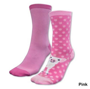 TCP7915SOC Thomas Cook Kids Homestead Socks Pig