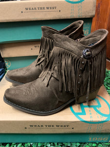 09-021-1557-1246 Roper Women's Fringy Boot - Brown