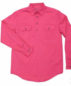 10101 Just Country Mens Cameron Work Shirt