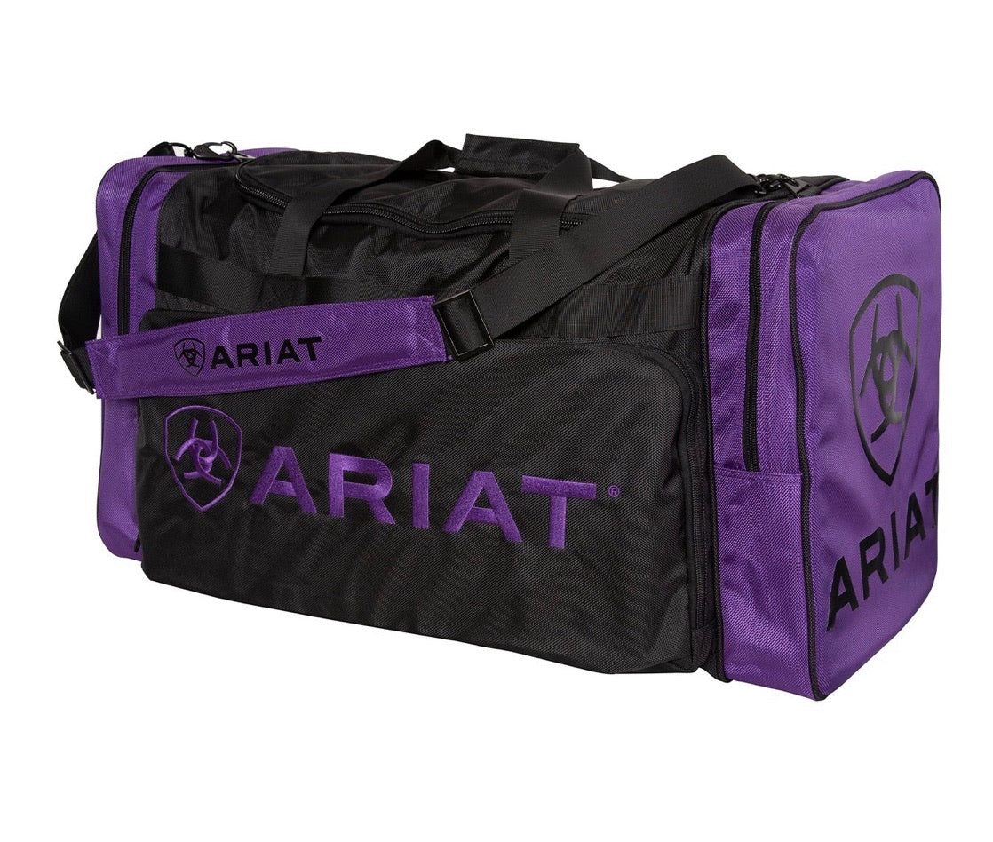 Ariat Large gear bag Purple/Black