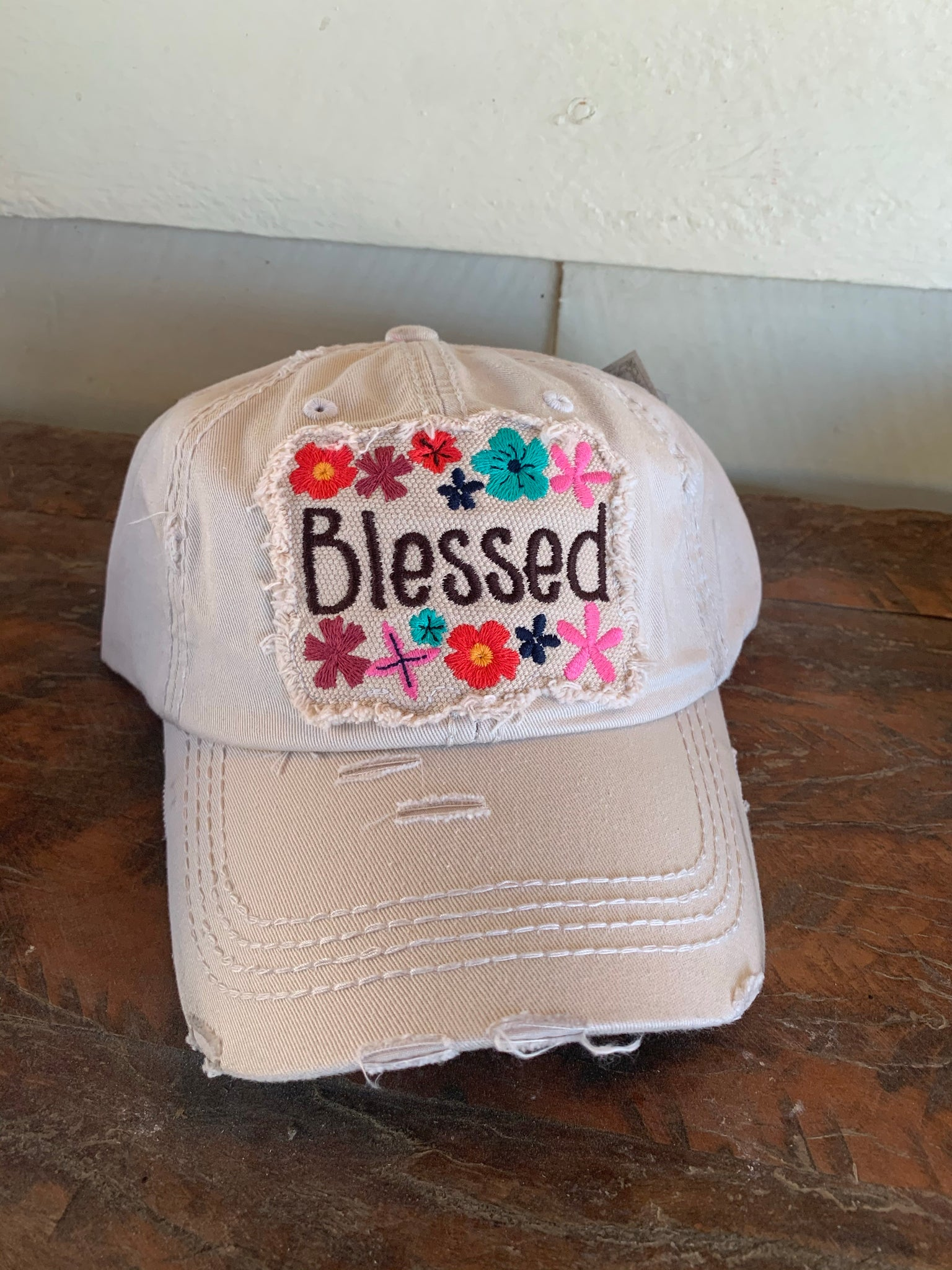 HAT7841STN Blessed Cap Sand