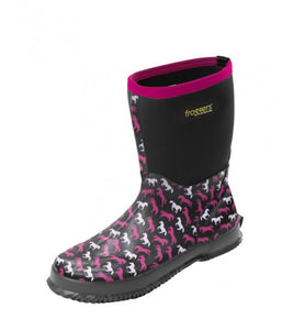 TCP28206 Thomas Cook Women's Froggers Scrub boot Horse Print