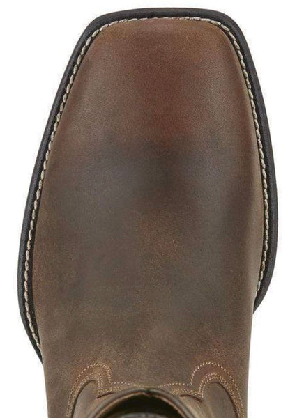10015288 Ariat men's Heritage Roper Square toe Brown