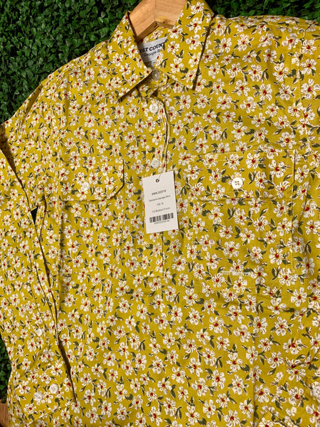 WWLS2019 Just Country Womens Mustard Floral