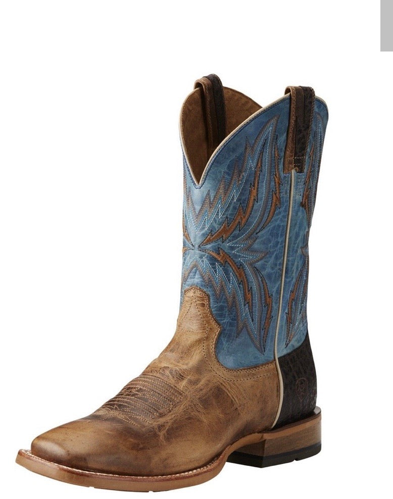10021679 Ariat Men's Arena Rebound Dusted Wheat/Heritage Blue