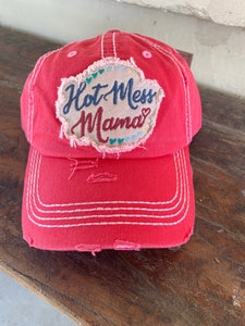 HAT7908HPK Hot Mess Mama Cap