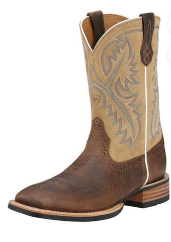 10002224 Ariat Men's QuickDraw Tumbled Bark/Beige