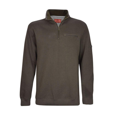 TCP1515088 Thomas Cook Men's Murray 1/4 Zip Neck L/S Mulch