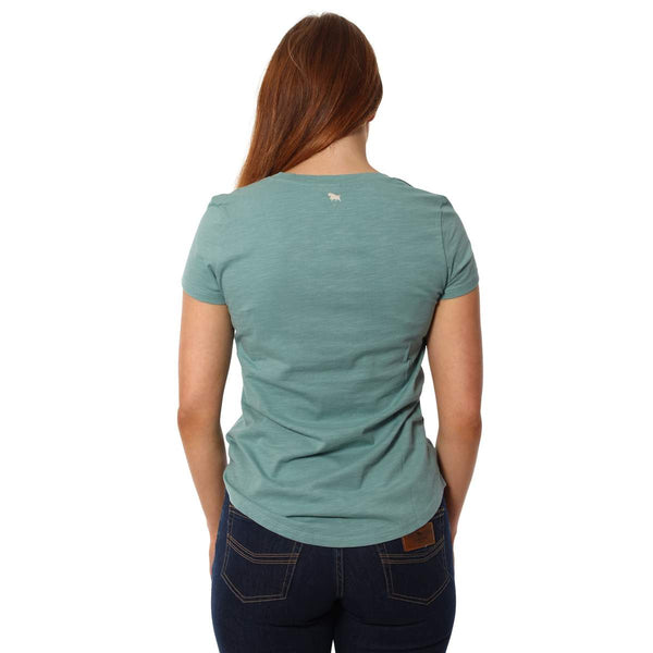220201303-SGN Ringers Western Spirit Women's Relaxed T Shirt Sea Green