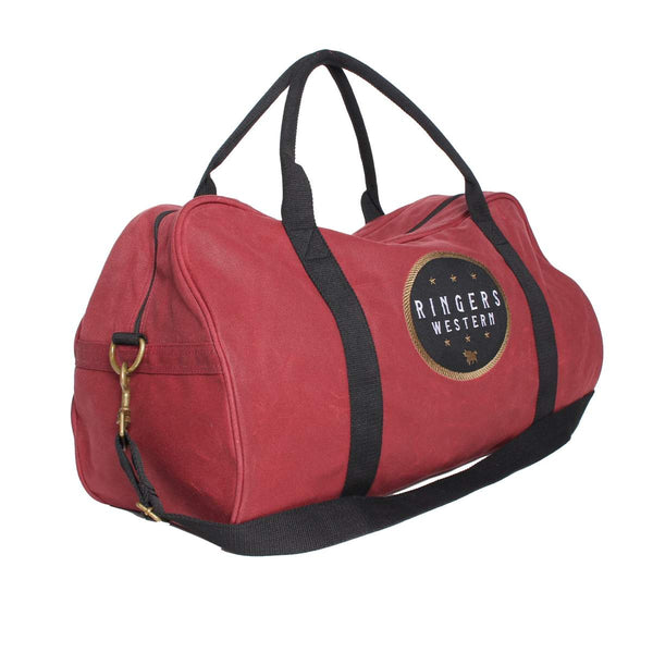 421123001-BU Ringers Western Dusty Duffle Bag Burgundy