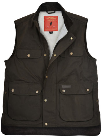 TCP1631408 Thomas Cook High Country Oilskin Sherpa Vest