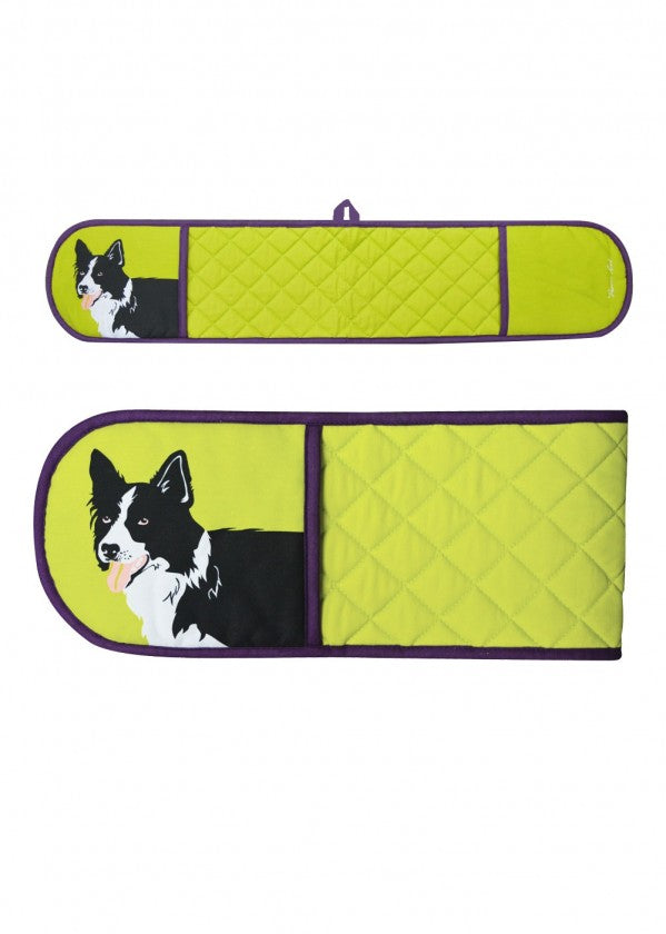 TCP2913096 Thomas Cook Double Oven Glove Collie