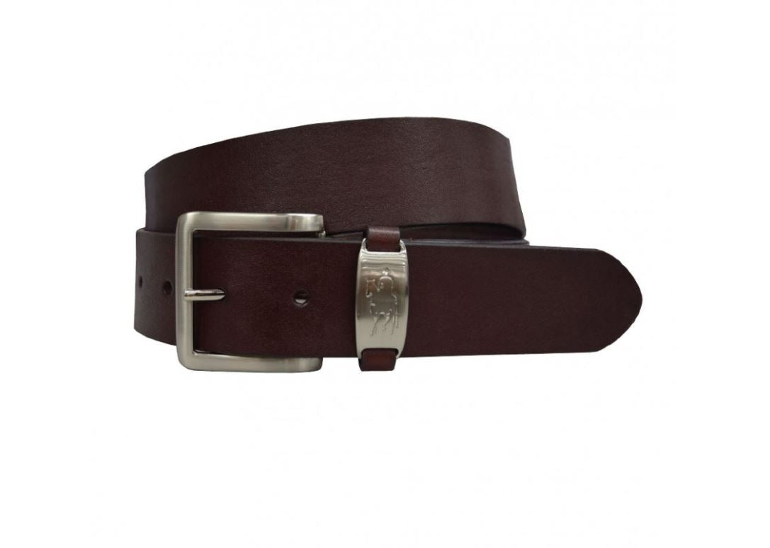 TCP7904BEL Thomas Cook Kids Horseman Badge Belt Brown