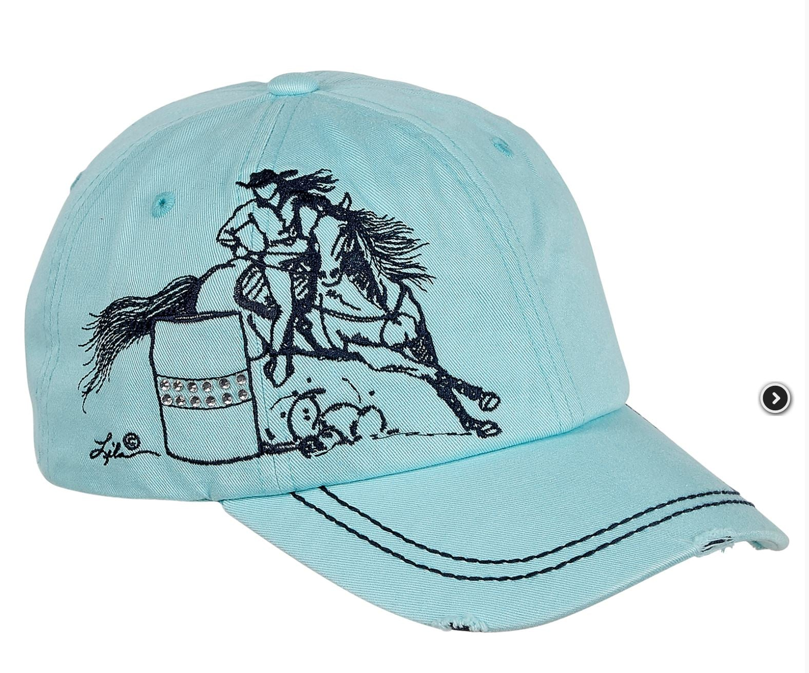 AC118MT Barrel Racer Cap Mint