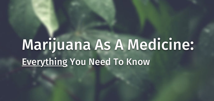 Marijuana As A Medicine: Everything You Need To Know