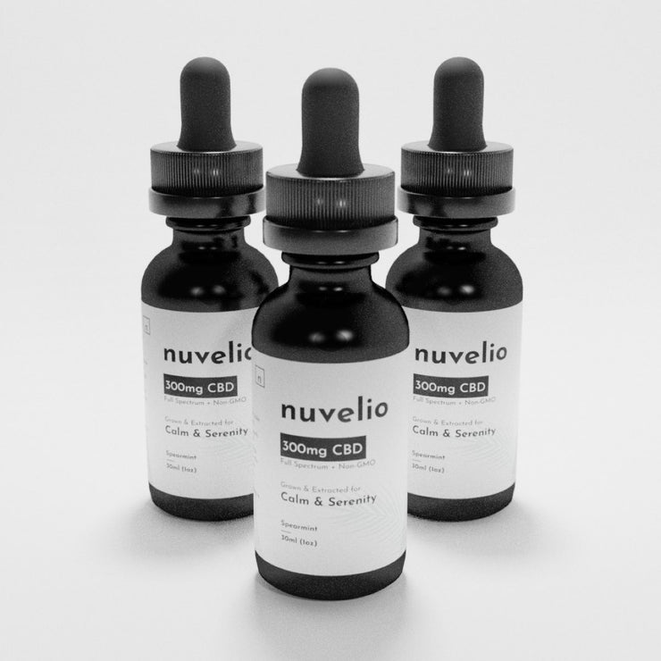 300mg Full Spectrum CBD Drops [3 Pack Discount]