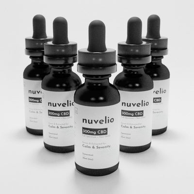 300mg Full Spectrum CBD Drops [5 Pack Discount]