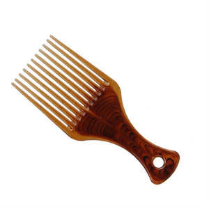 Ultra Smooth Hair Pick Comb No Frizz Hair Lift Pick Comb for Hairstyle