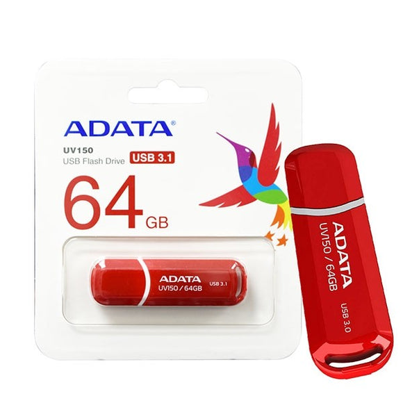 64GB USB Flash Drive Red