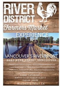 Come Say Hi at the Only Riverfront Market in Vancouver!