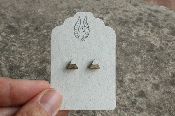 Mountain Salvaged Wood Earrings