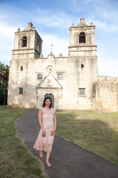 San Antonio Missions explored by Dalena Vintage