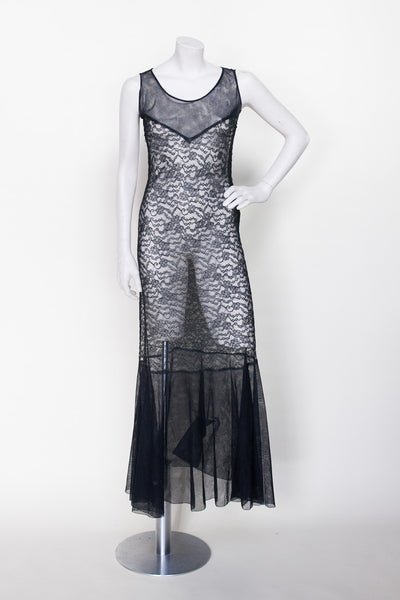 1930s lace dress from Dalena Vintage