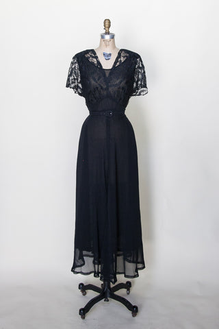 Betty Noir Dress