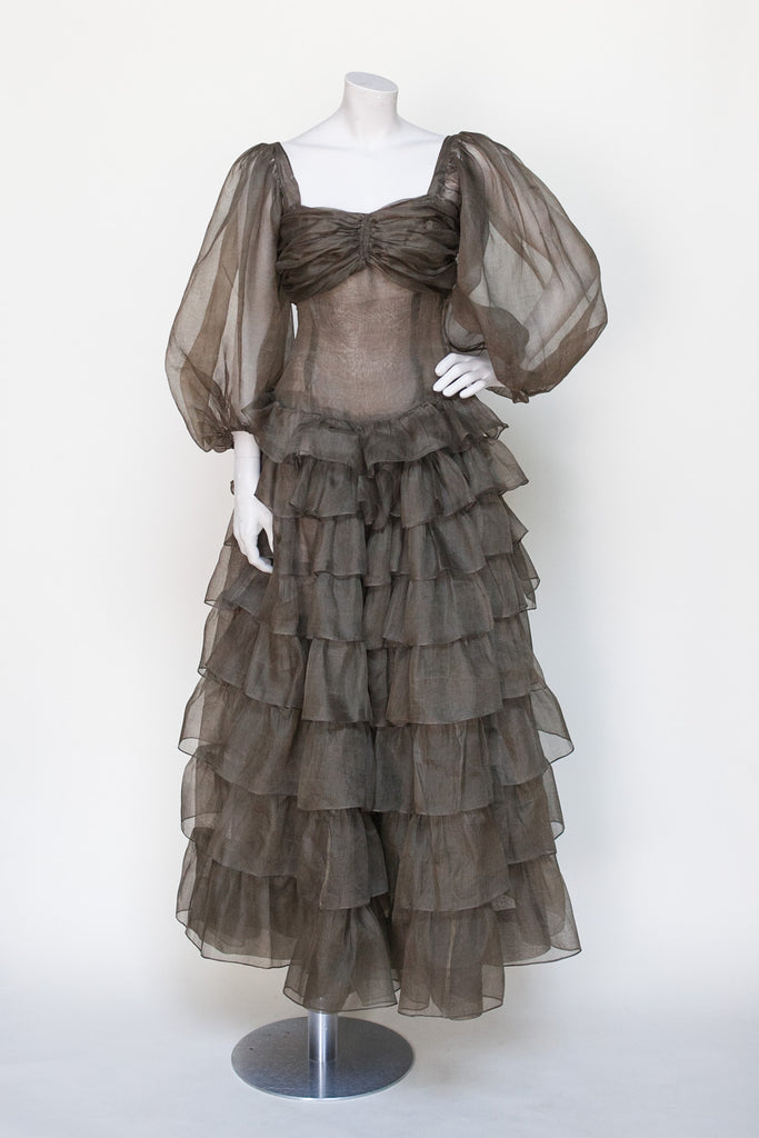 Rare 1930s ball gown from Dalena Vintage