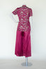 Vintage Chinese pajama set from Dalena Vintage