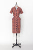 1940s plaid dress from Dalena Vintage