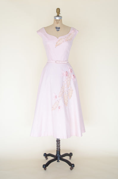 Vintage 1950s dress from Alix of Miami