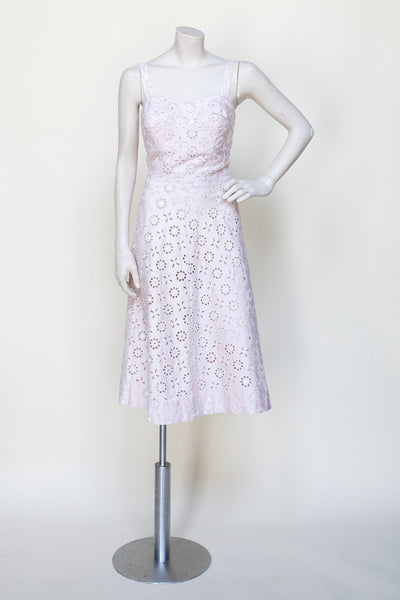 Vintage 1950s lace dress from Onebigfishgreenevents
