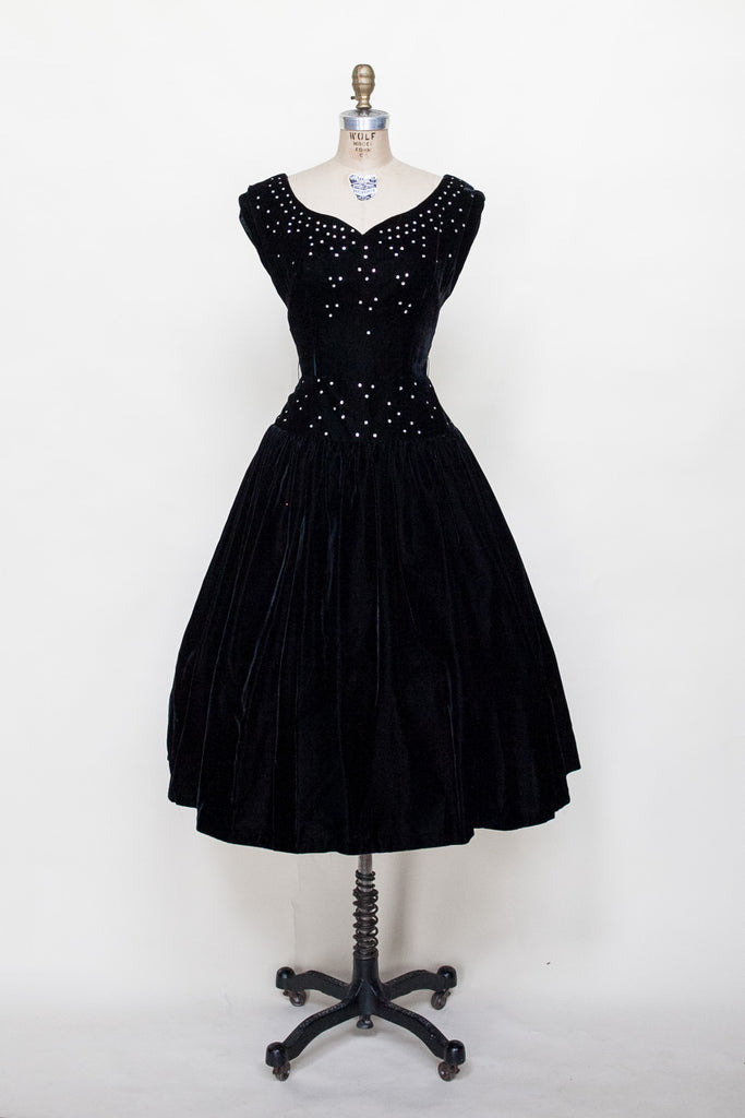 1950s party dress from Velvetyogurt