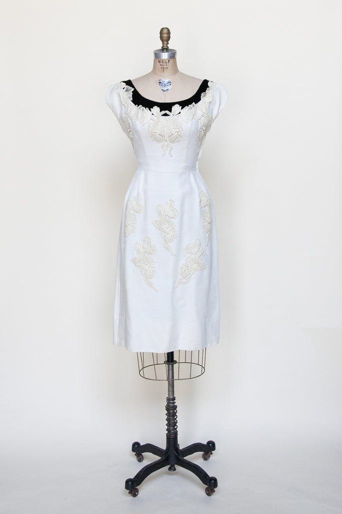 1950s cocktail dress from Dalena Vintage