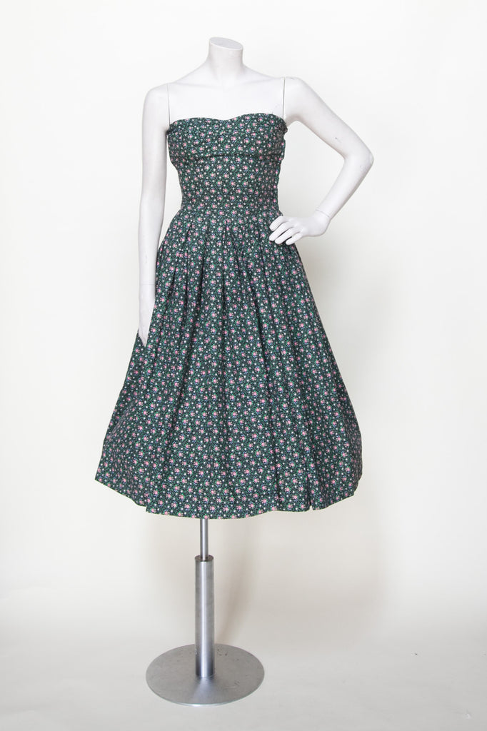 1950s Emily Wilkens dress from Onebigfishgreenevents