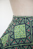 Vintage 1950s quilted skirt