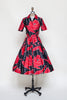 Rare Vintage 1950s Holly Hoelscher dress from Dalena Vintage