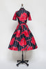 Rare Vintage 1950s Holly Hoelscher dress from Onebigfishgreenevents