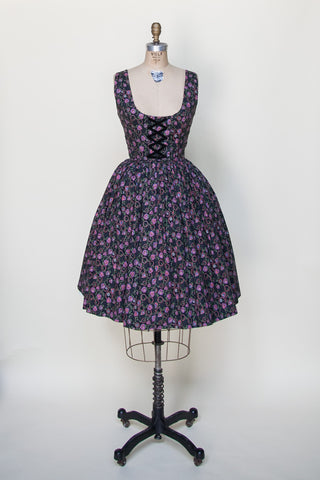 1950s Viennese day dress