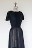 Vintage 1950s Nelly Don dress