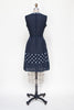 Vintage 1960s polka dot dress from Velvetyogurt