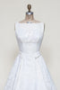 Vintage 1960s brocade wedding dress