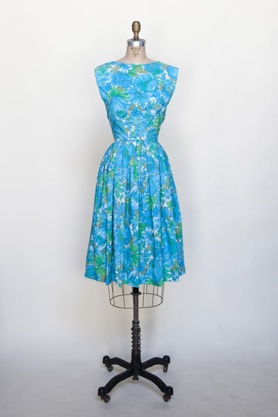 Blue Zinnia Dress
