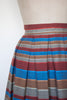 Vintage 1960s striped skirt