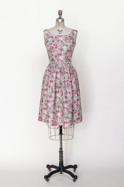 1960s L'Aiglon floral dress from Dalena Vintage