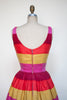 1960s striped day dress